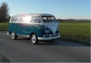 Volkswagen Spijlbus voor Uitvaartbeurs
